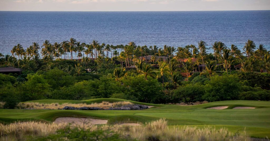 seascape view from one of the best golf courses in the world
