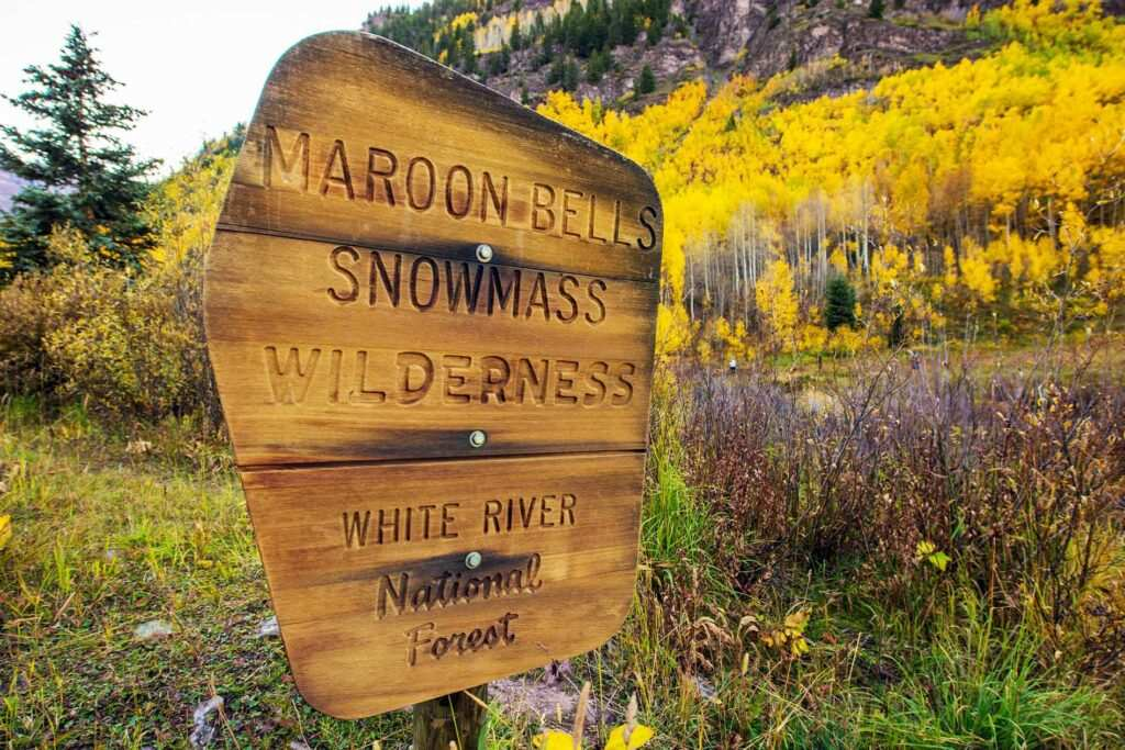 Colorado Maroon Bells Hiking