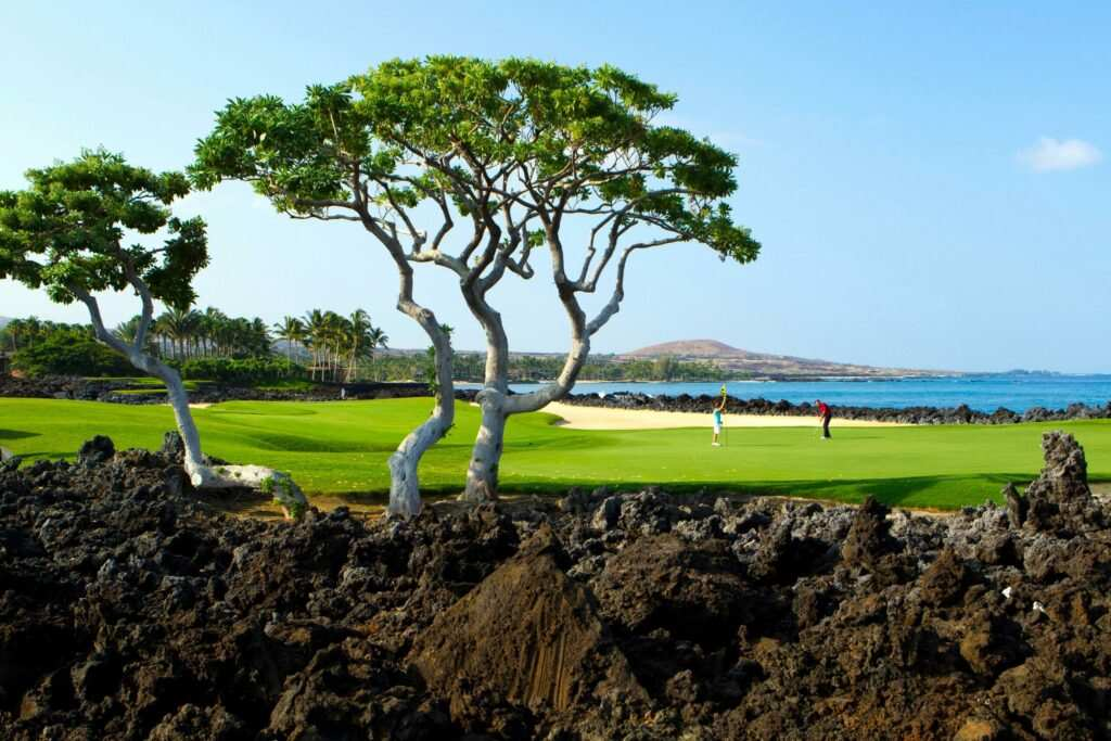Hualalai golf course best holes