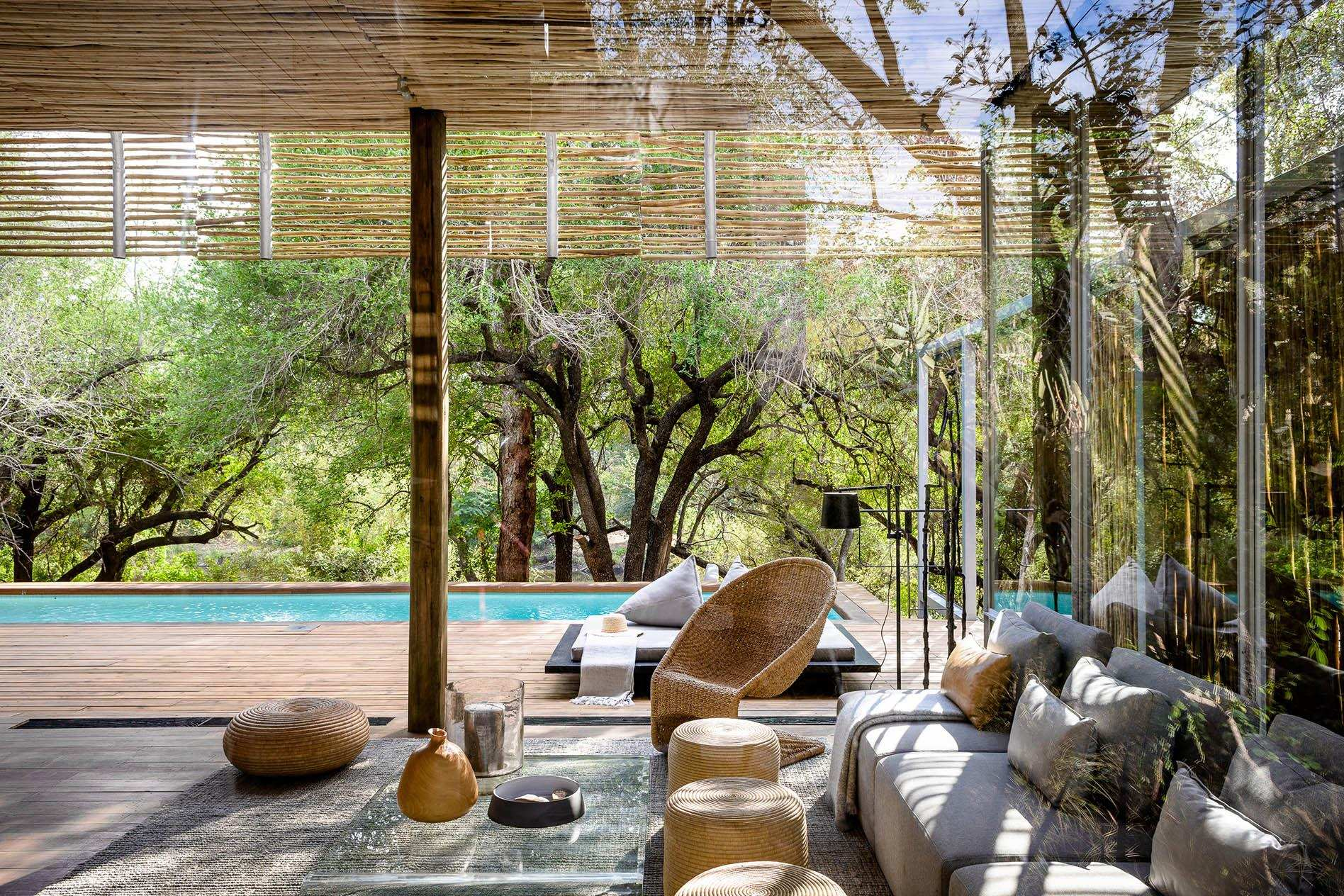 1-bedroom luxury suite Singita Lebombo Lodge