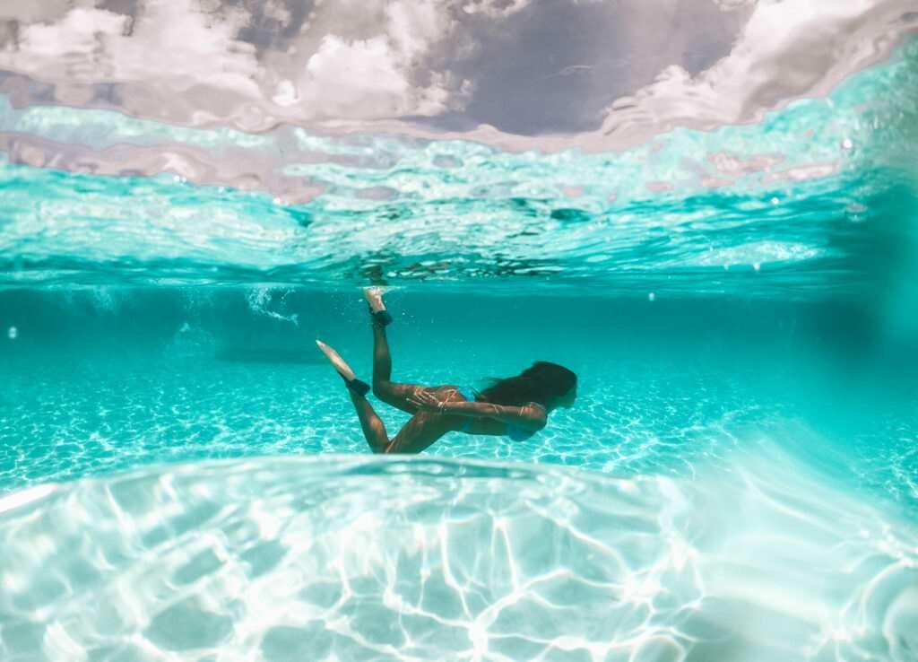 Winter vacation in the Bahamas