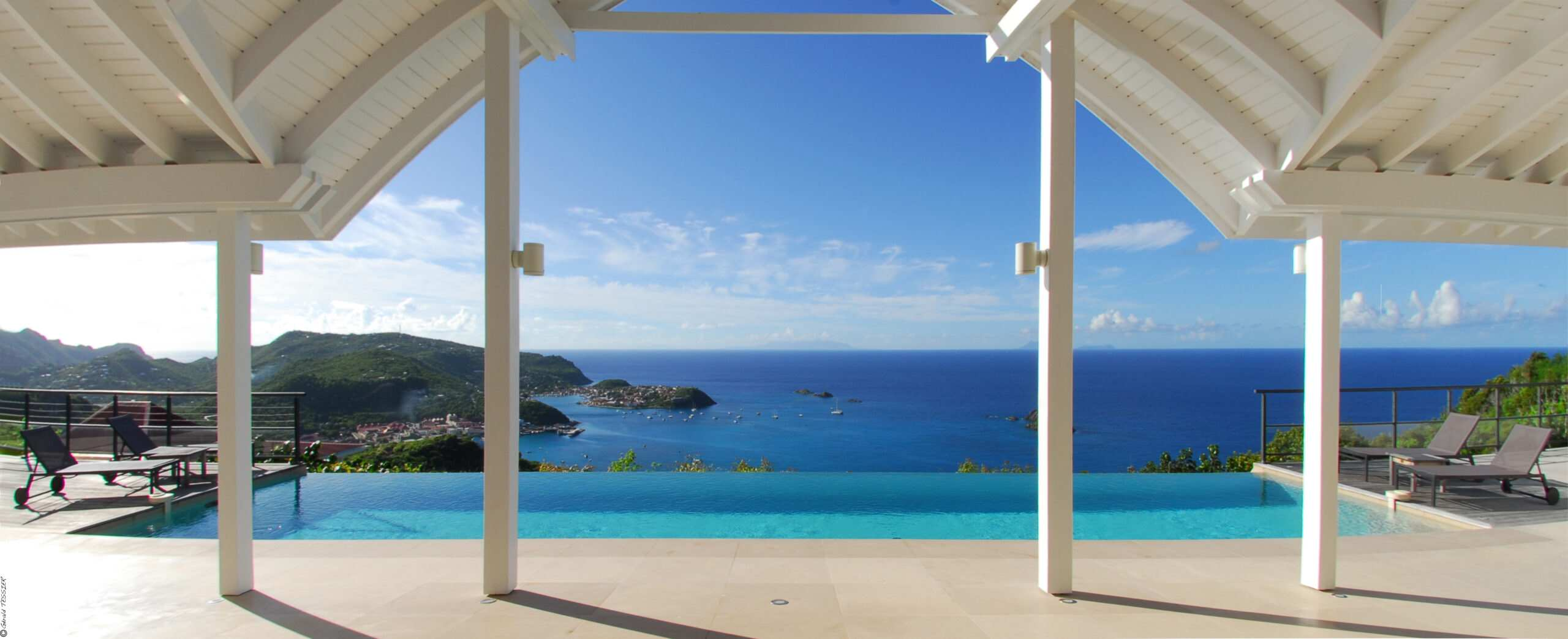 St Barts villas on the beach
