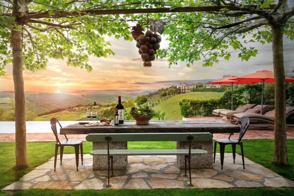 Cuvée's luxury Tuscan vacation rental