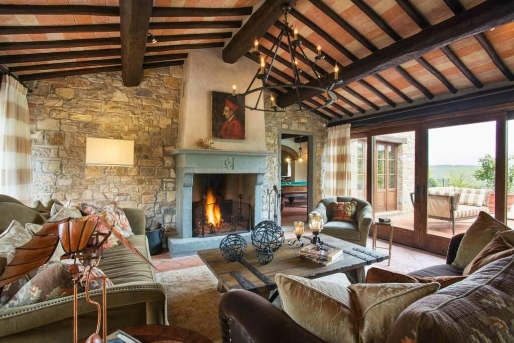 Restored 16th-Century Tuscan Villa Rental
