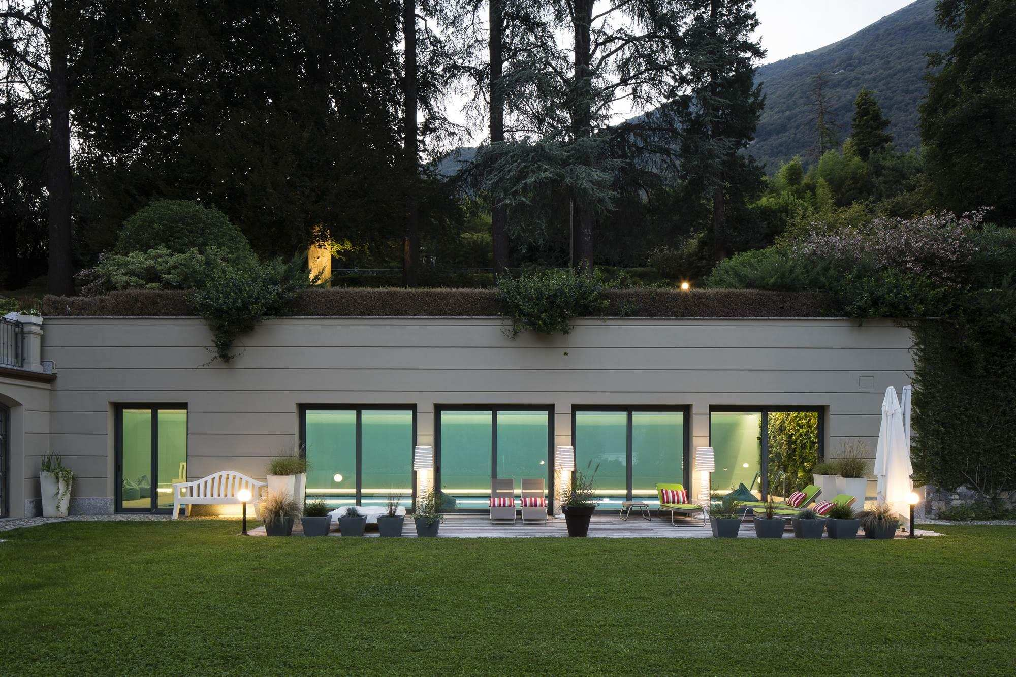 Luxury Lake Como vacation rental home with private pool