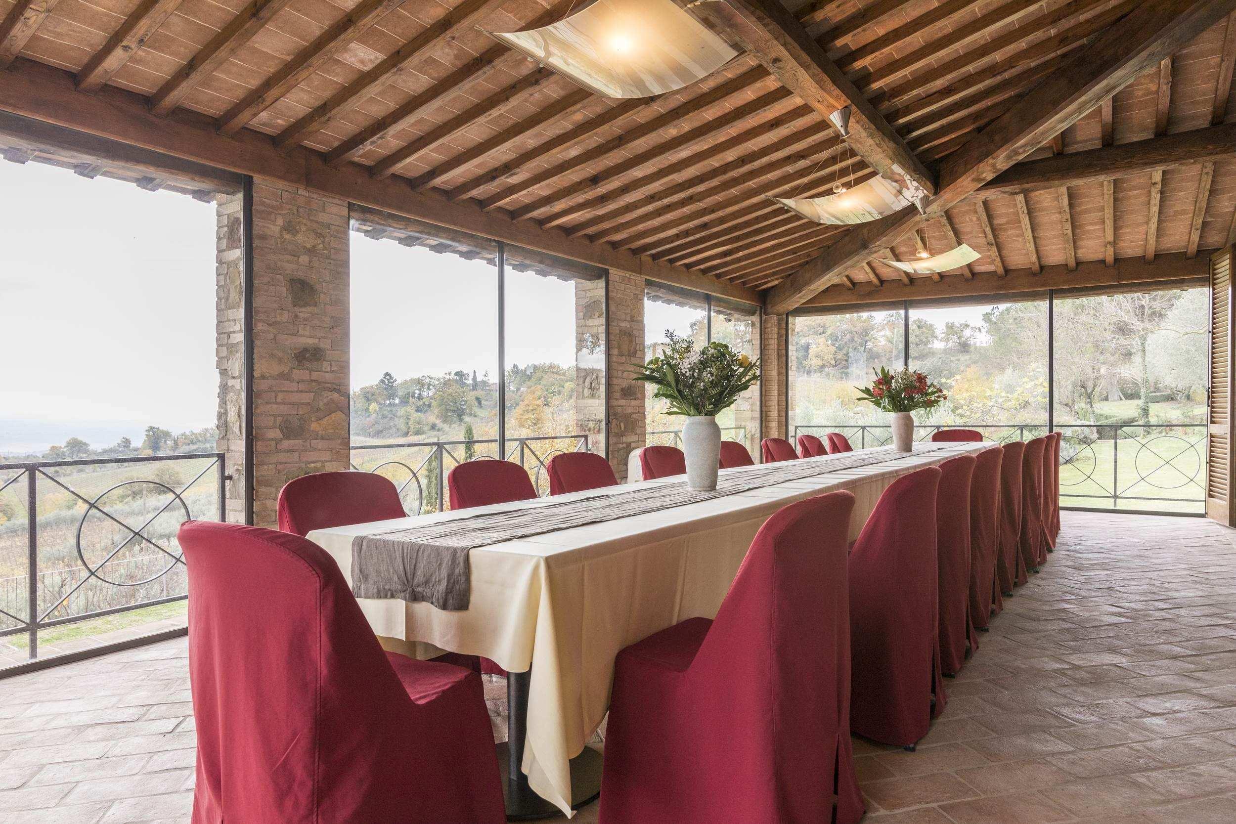 Private Chef at Tuscan luxury villa.