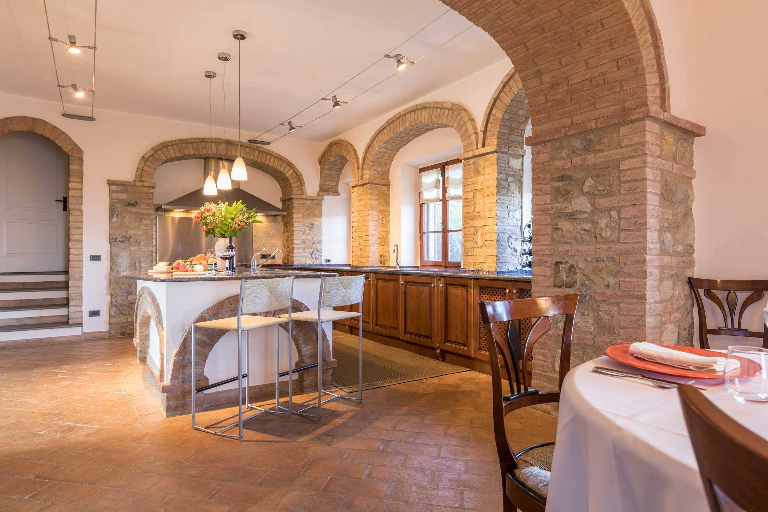 Cuvée's Luxury Tuscany Vacation Rental in with Staff and Pool