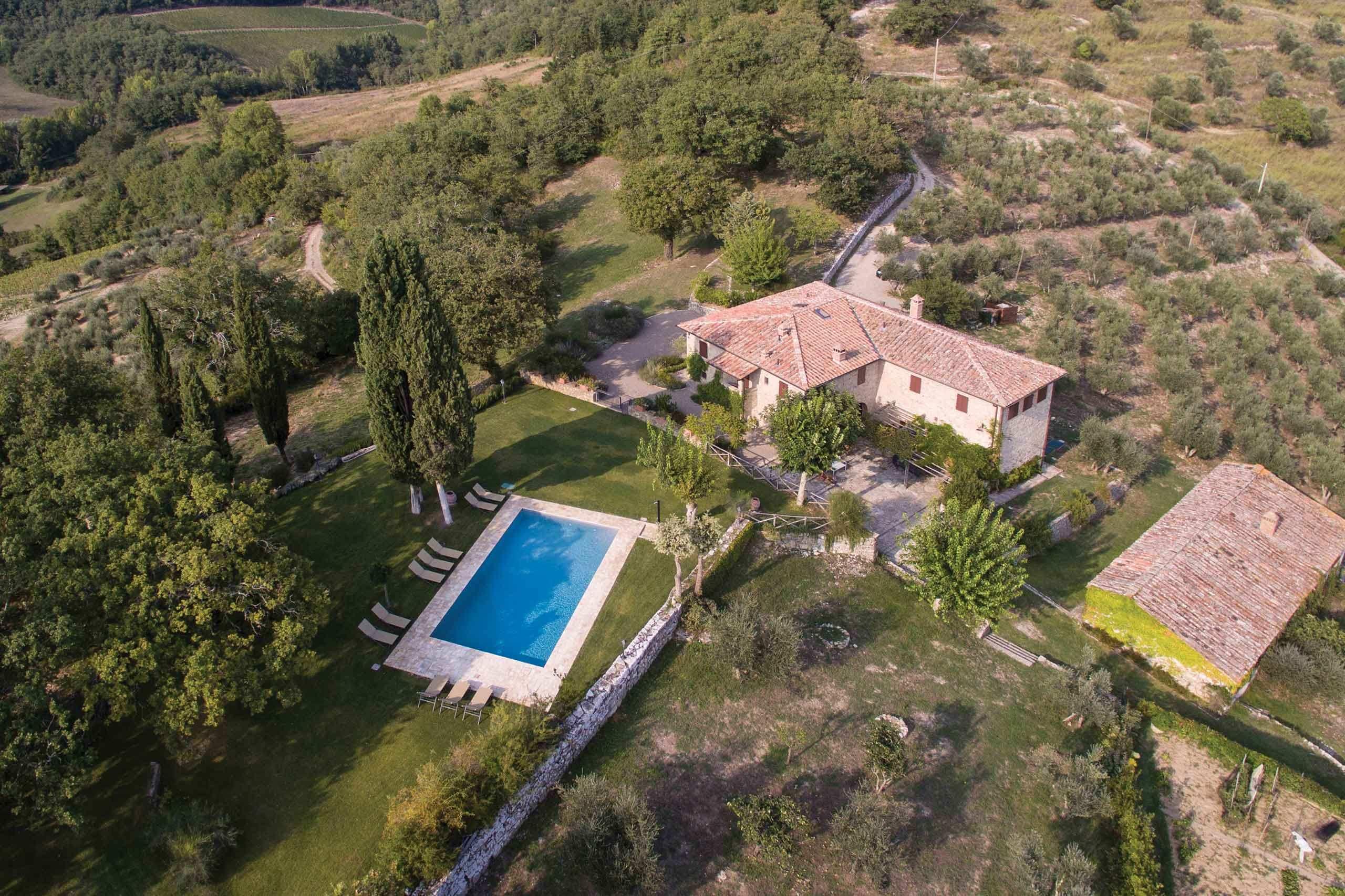 Tuscany high end rental