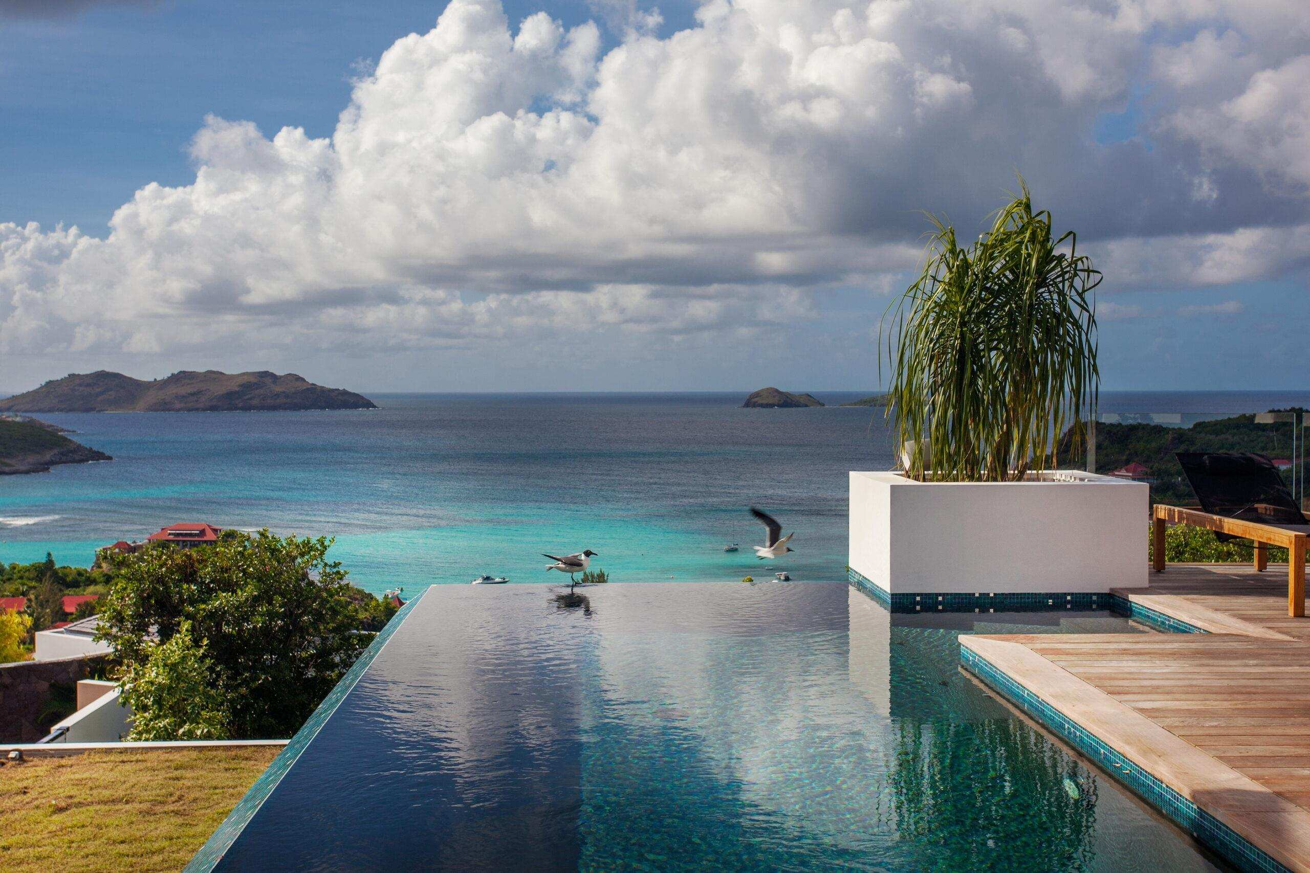 St Bart private villas for rent.