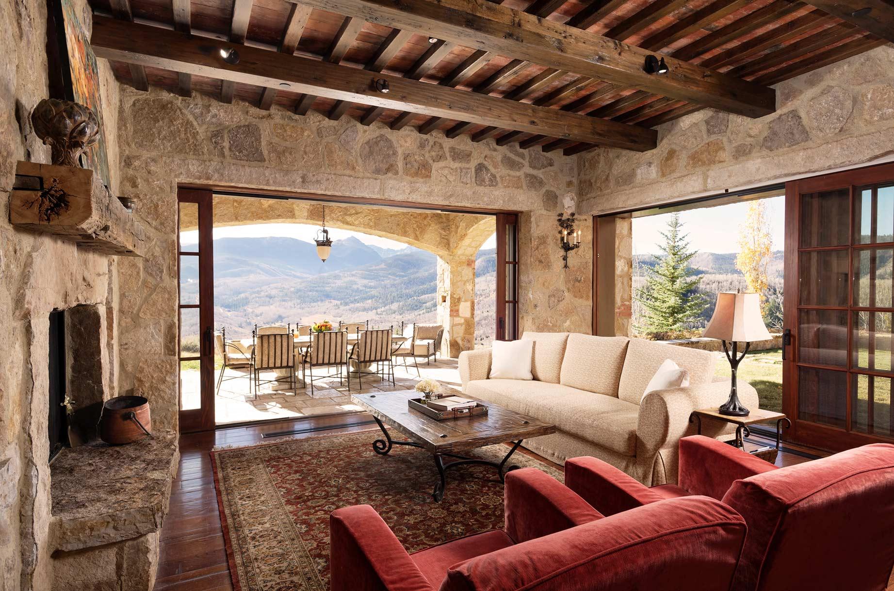 7 bedroom luxury rental in Vail