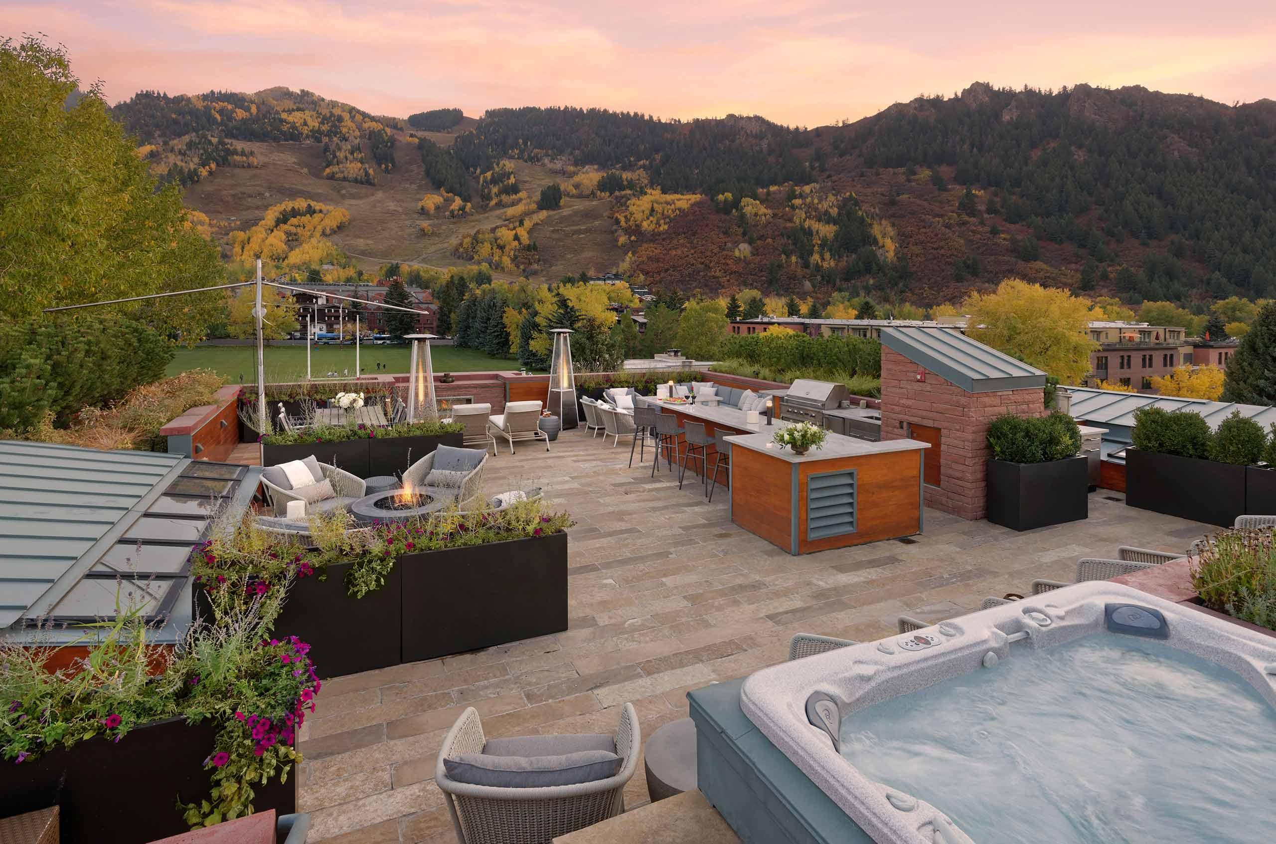 aspen luxury villa