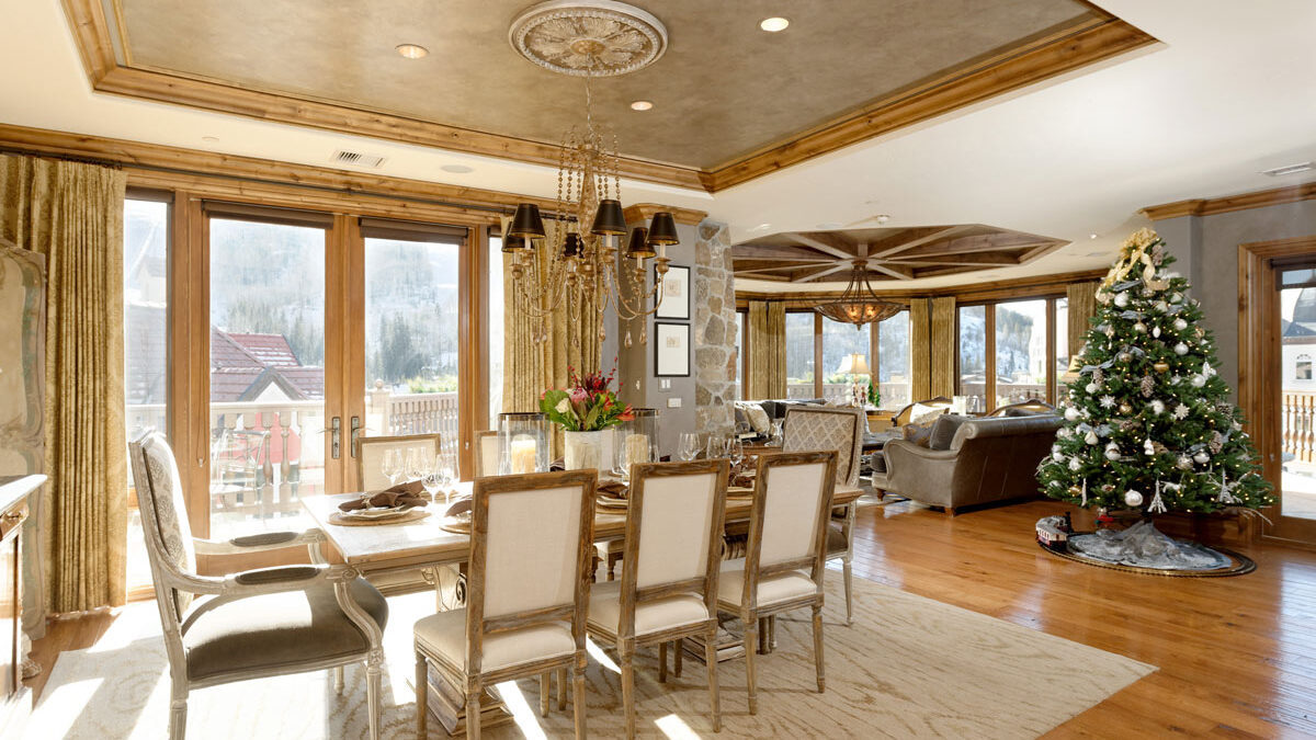Luxury Vail vacation rentals for Christmas