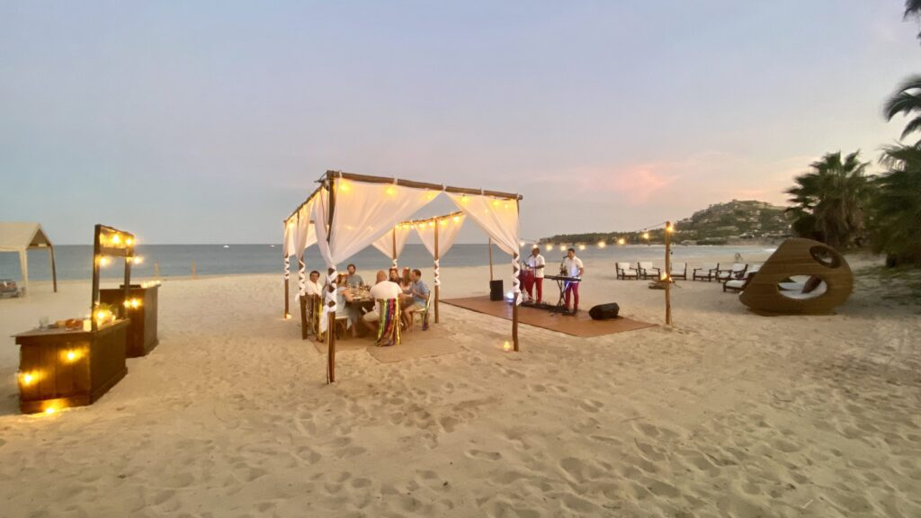 Los Cabos Private Beach Dinner