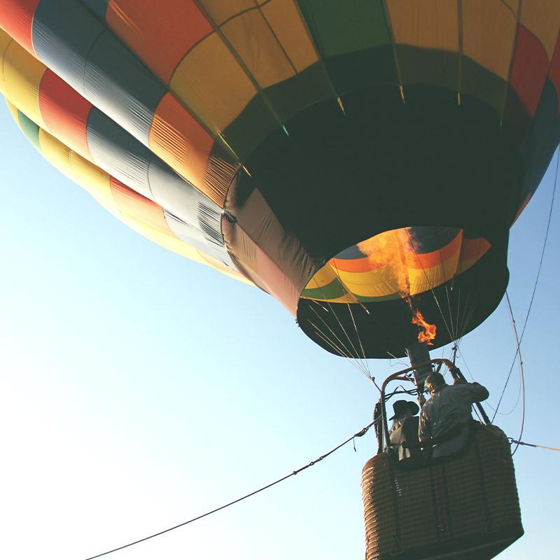 Hot Air Balloon in Colorado