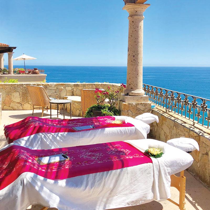 Private in-villa massage in Cabo