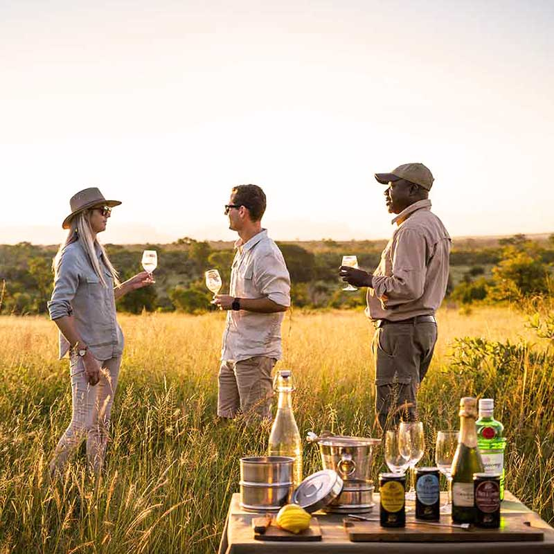 African safari luxury experience