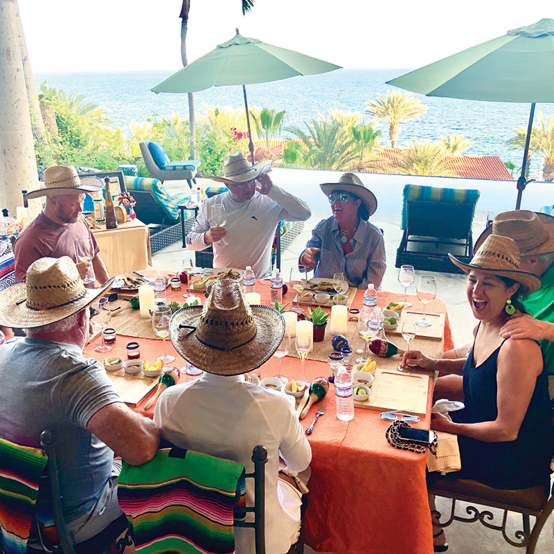 Tequila tasting in Cabo