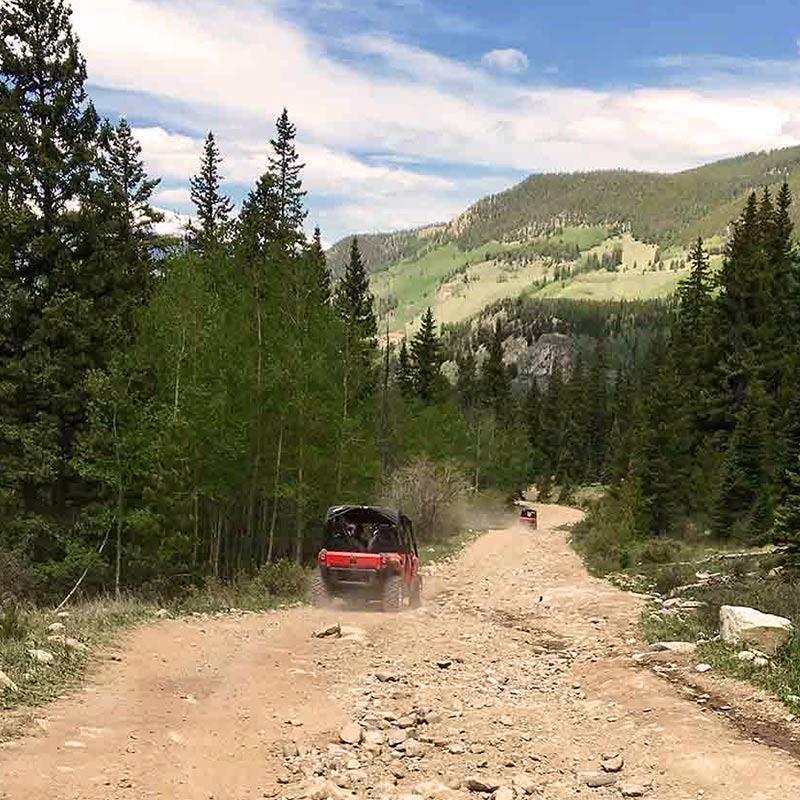 Private ATV tours in Colorado