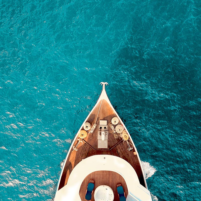 Luxury yacht experience in Italy