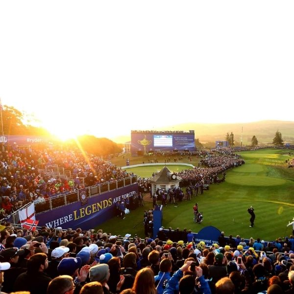 spectating the Ryder Cup
