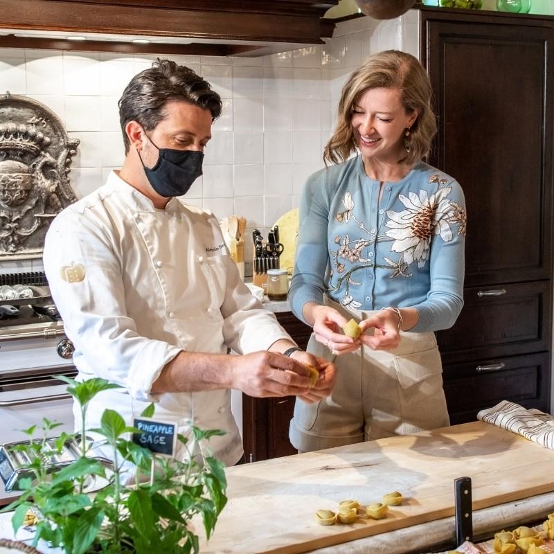 private chef pasta making session
