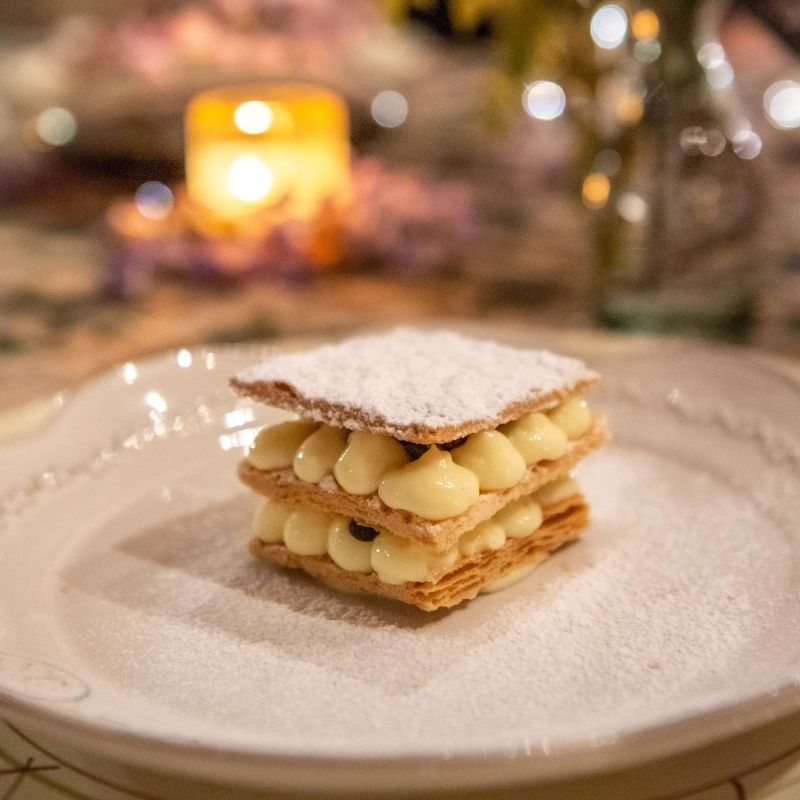 Italian dessert from private chef meal