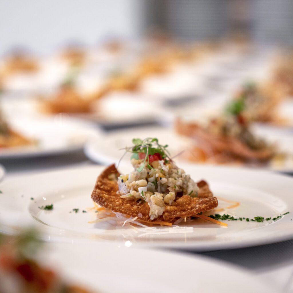 private chef prepared shrimp ceviche