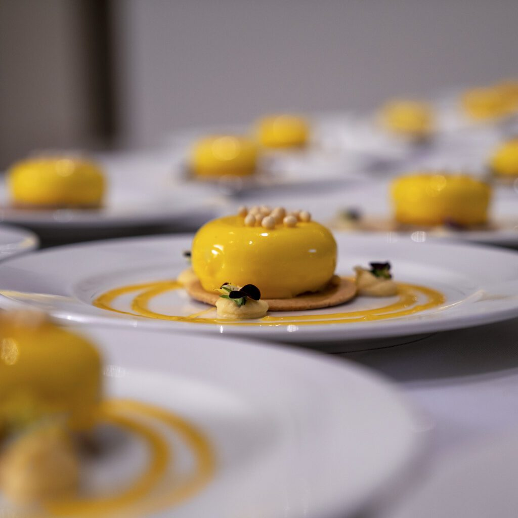mango cake from Cabo private chef dinner