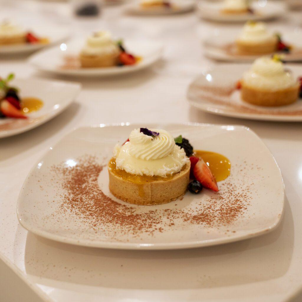 private chef prepared dessert