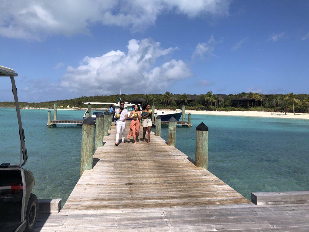 Royal Island arrival
