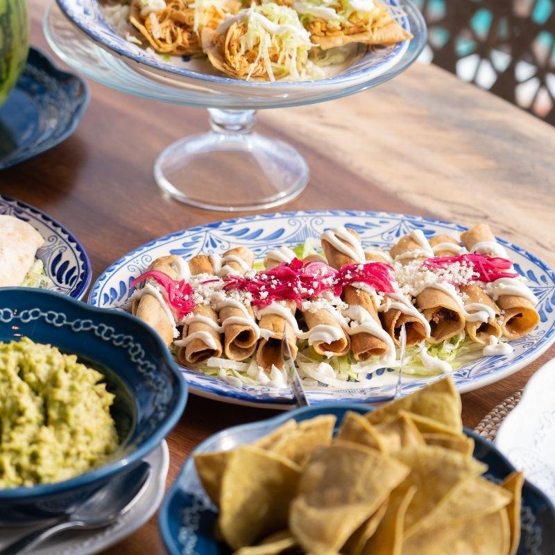 Cabo private chef prepared Mexican cuisine