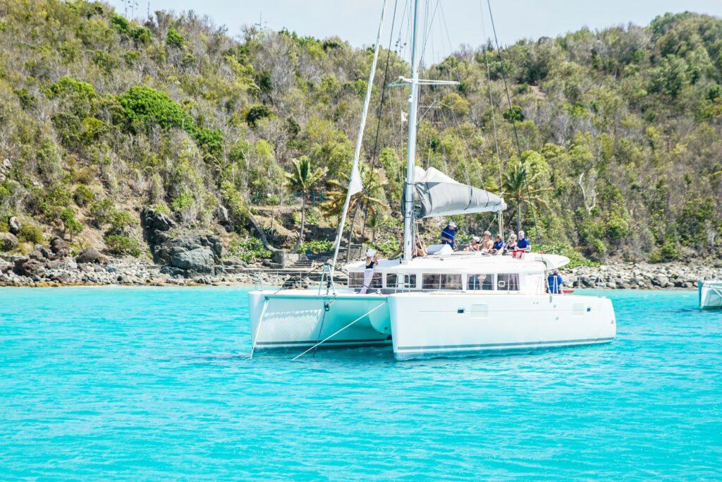 Catamaran Cruise in St. Barts