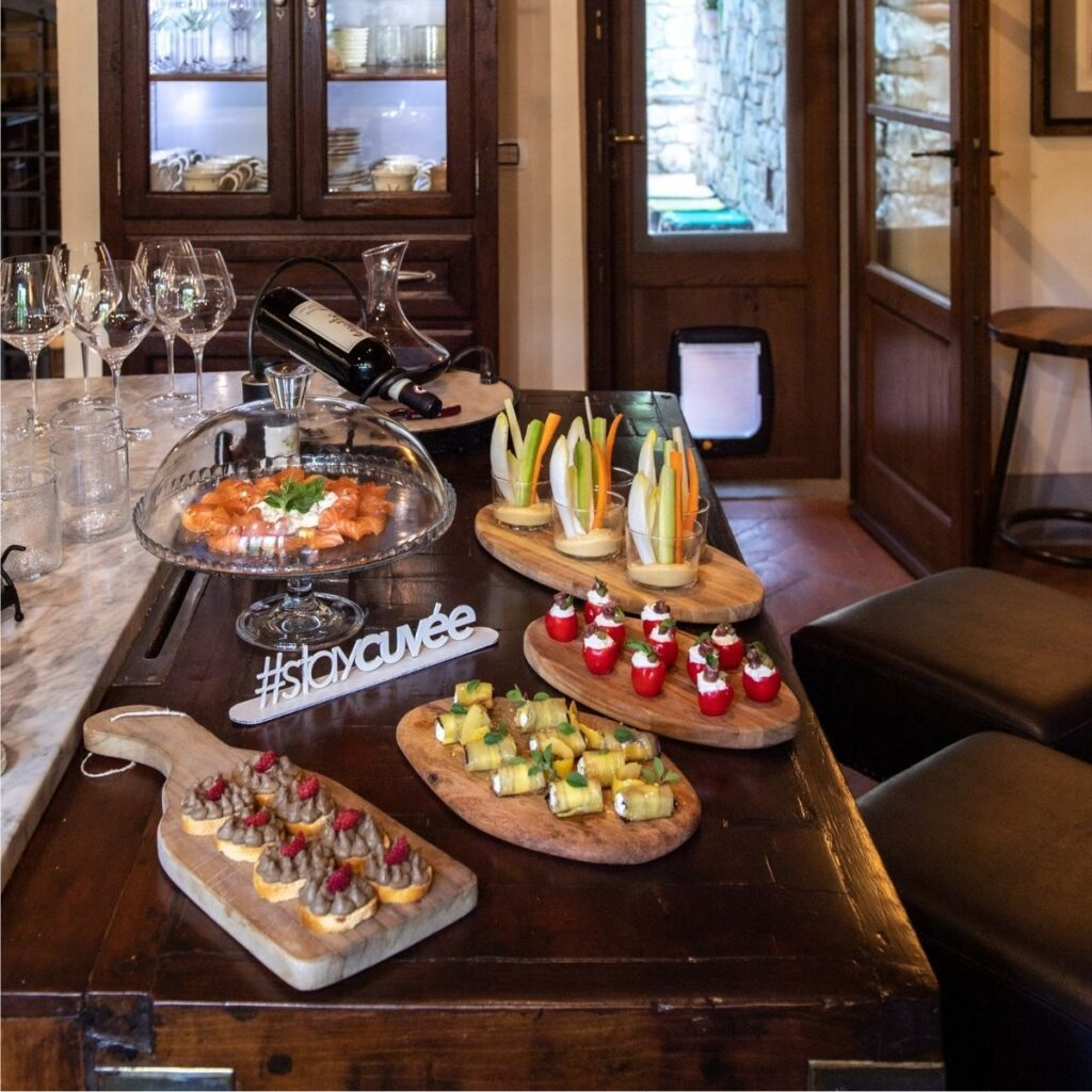welcome amenity for Cuvée Tuscany vacation