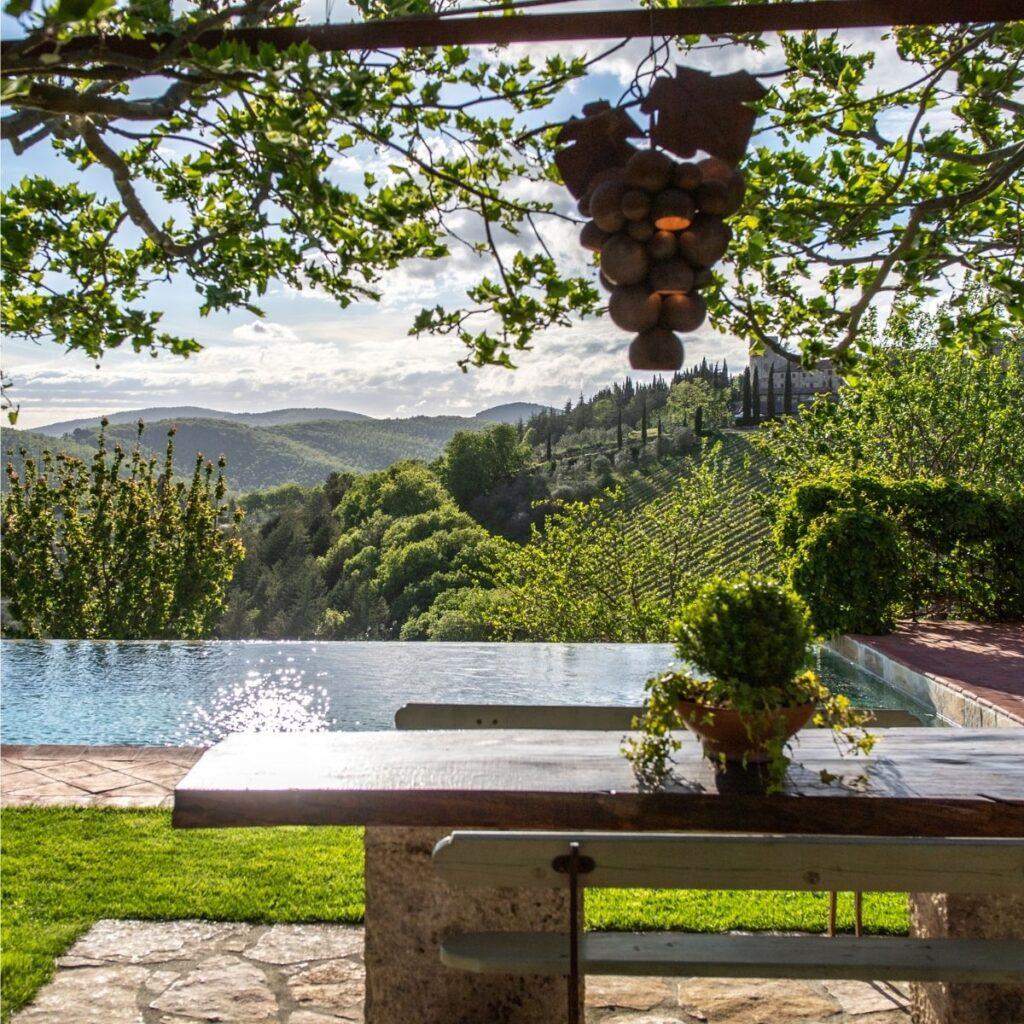 luxury villa rental in tuscany, italy